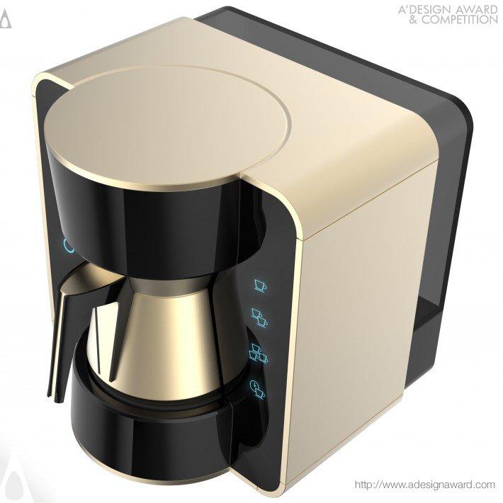 Kahveci Turkish Coffee MacHine (Automatic Turkish Coffee MacHine Design)