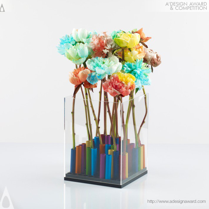 Flower Power Vase by Mea'ad Al-Abboud