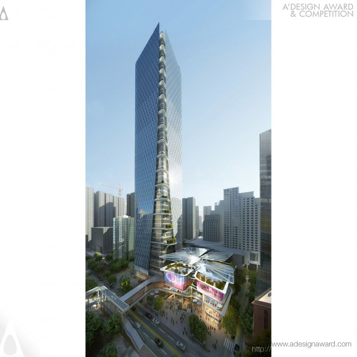 Aedas  - Shenzhen Luohu Friendship Trading Centre Mixed Use – Retail, Office & Service Apa