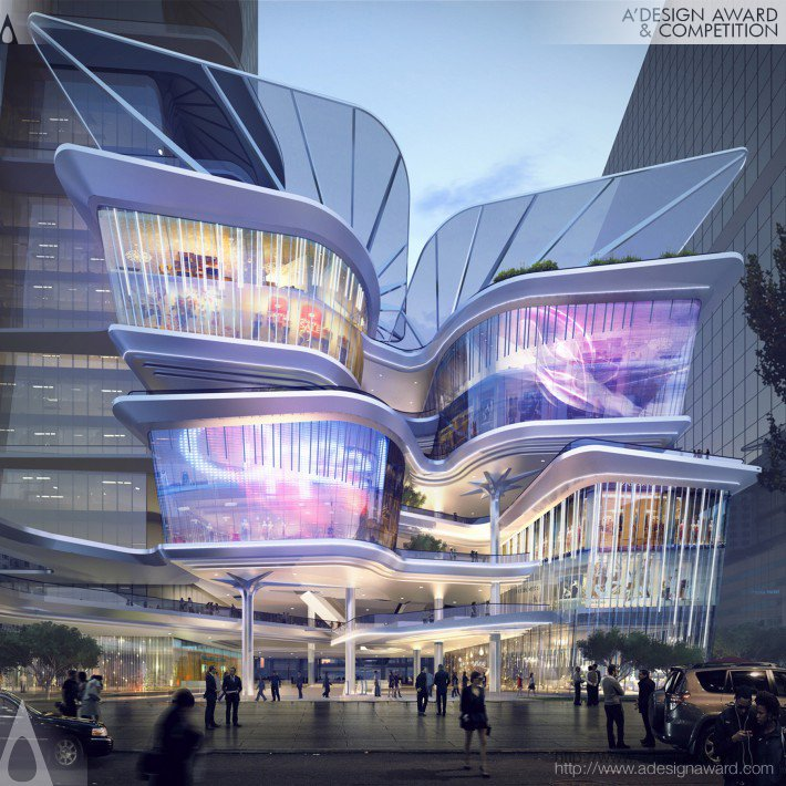 Shenzhen Luohu Friendship Trading Centre by Aedas