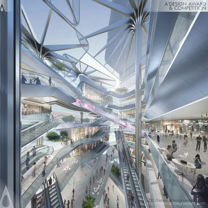 Mixed Use – Retail, Office & Service Apa by Aedas