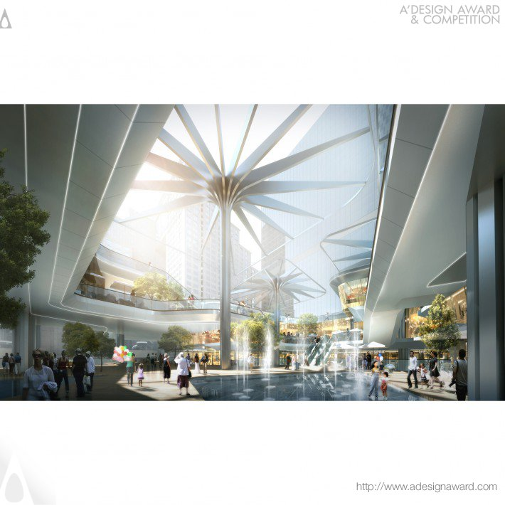 Aedas  Mixed Use – Retail, Office & Service Apa
