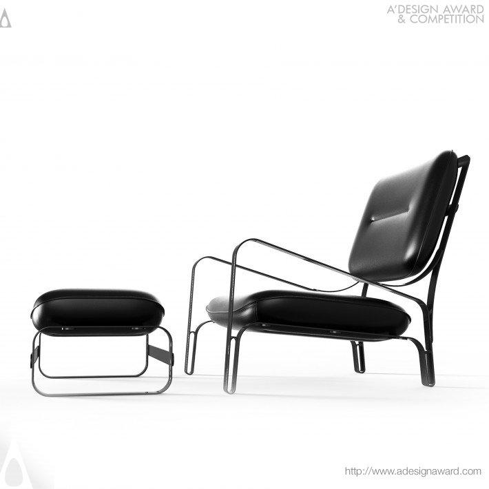 Patroa (Lounge Chair and Ottoman Design)