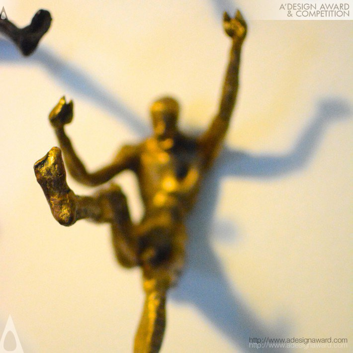 Men On Wall (Decorative Sculpture Design)
