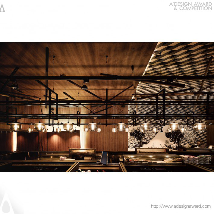 Ahead Concept Design - The Origins of Style Japanese Sushi Restaurant