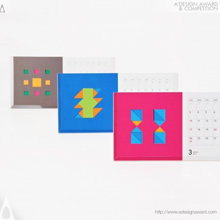 """Ntt Comware 2013 Calendar """"custom&enjoy"""" (Calendar Design)"""