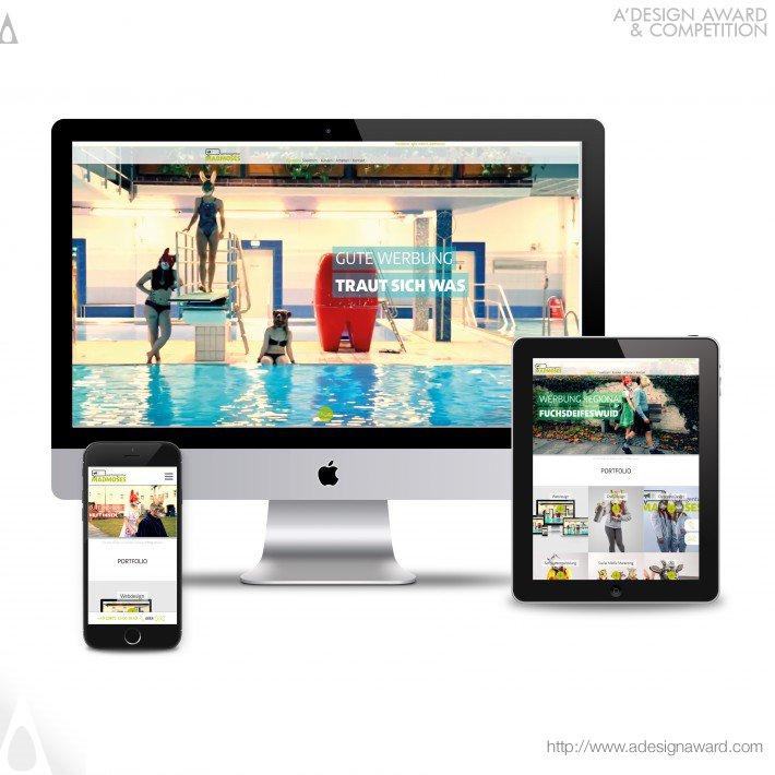 Madmoses Full Screen Design (Website Design)