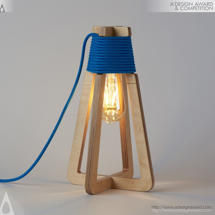 Up Side Down Lamp by Sergios Fotiadis