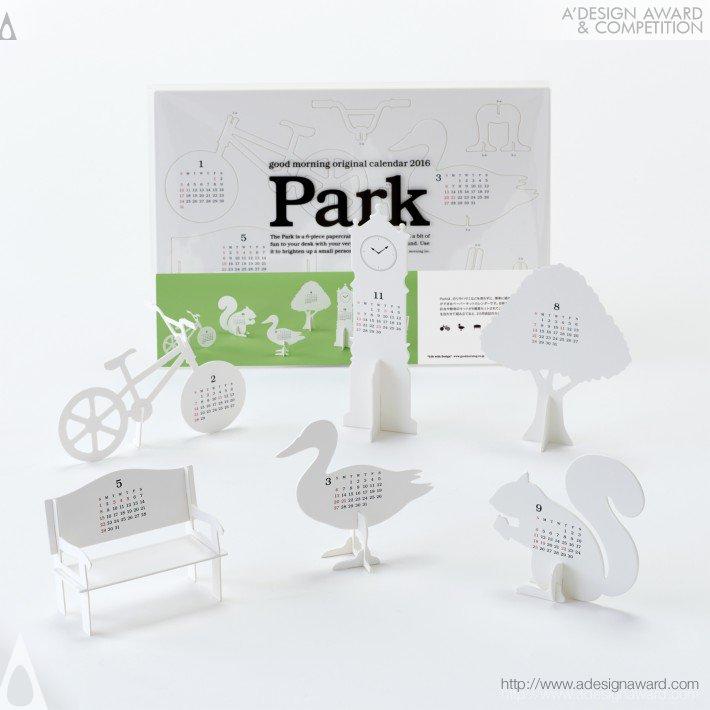 "Calendar 2016 ""park"" (Calendar Design)"