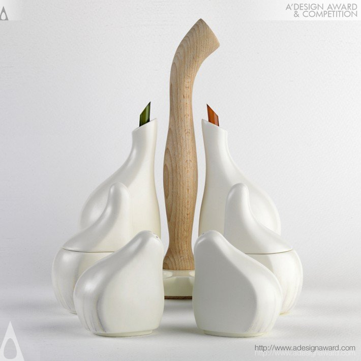 Ajorí (Cruet. Condiment Container Design)