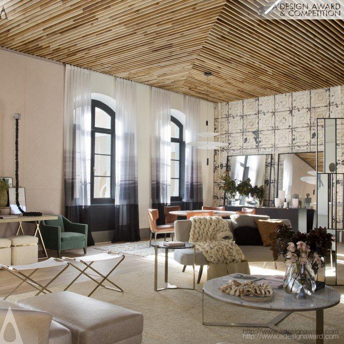 Pink Coal Living (Interior Design Design)