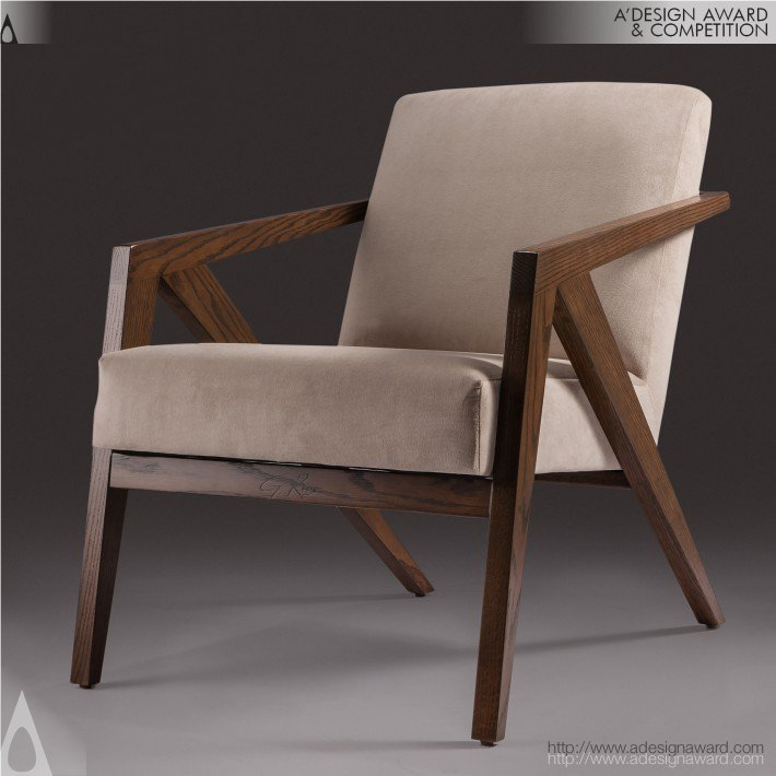 Geometric Lounge Chair/Dining Chair By Gerardo Ríos Altamirano