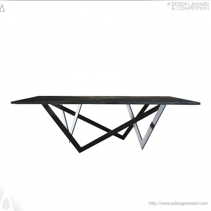 Jacob 1 Table by Yacob Sughair