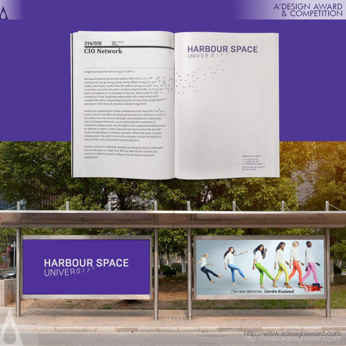 Harbour Space University (Identity System Design)