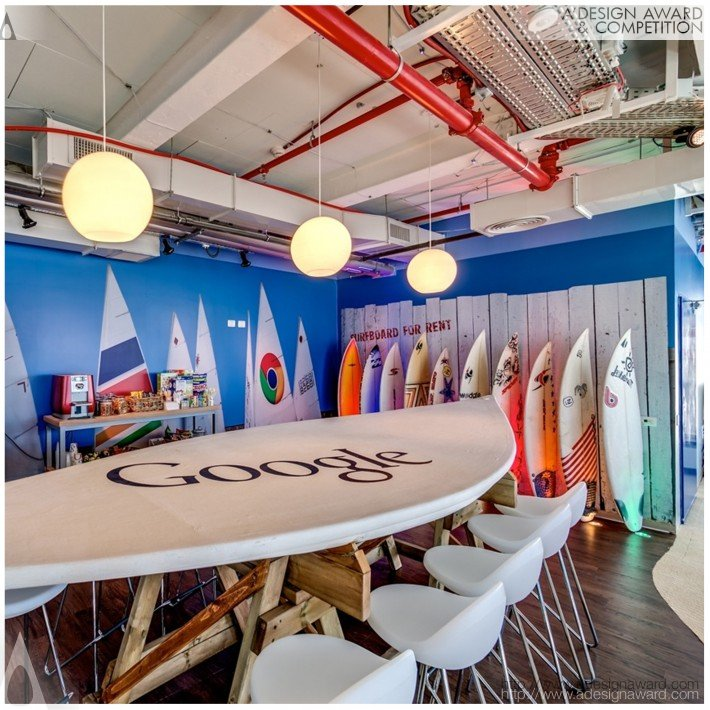 A 39 design award and competition google office tel aviv for Google office interior designs pictures