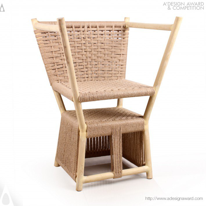 Grow Up Multifunctional Chair by Yong Zhang
