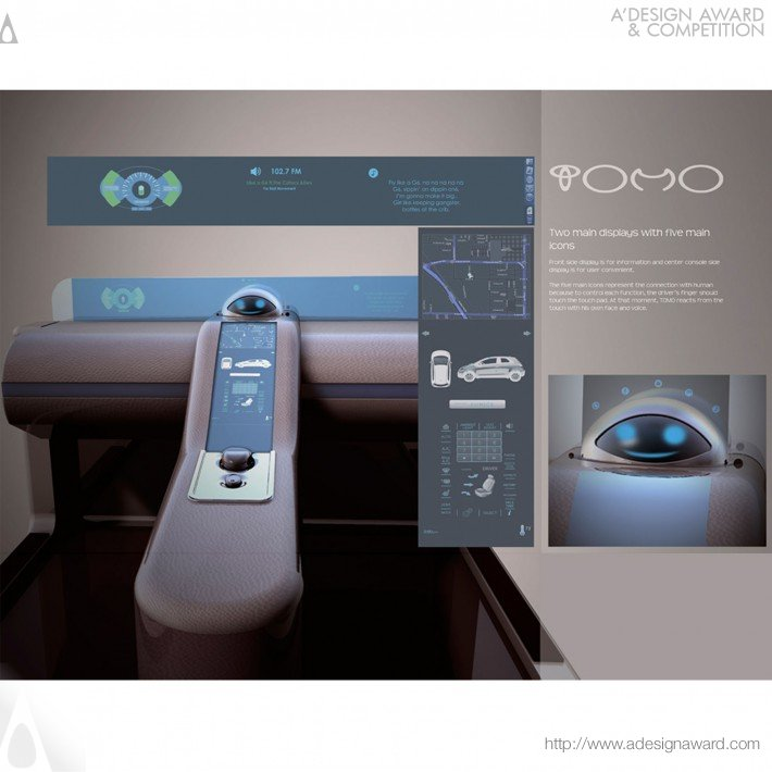 Tomo Branding & Interface Design (Interface System For Future Car Design)