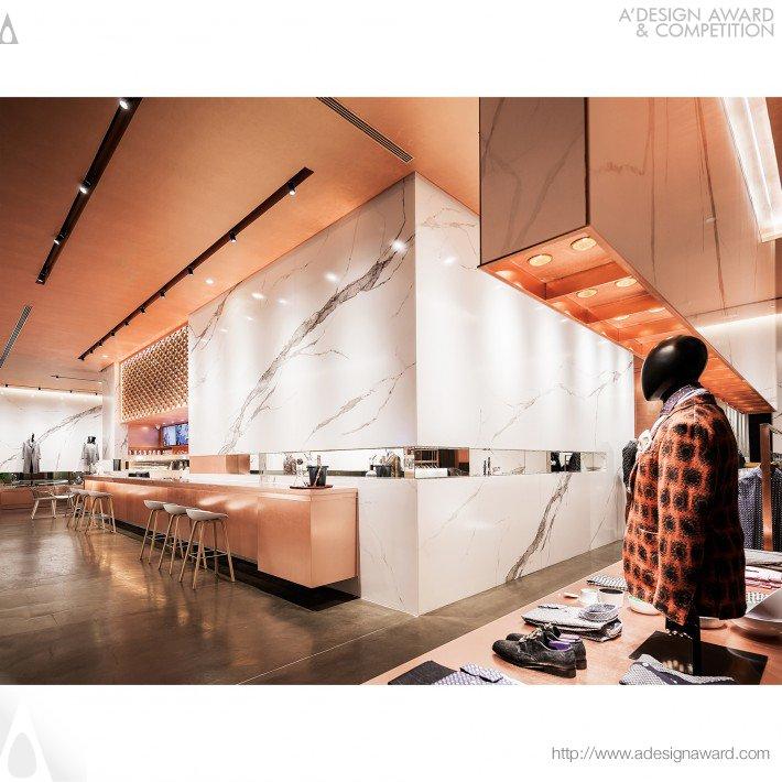 H.e Homme (Clothing Concept Store Design)