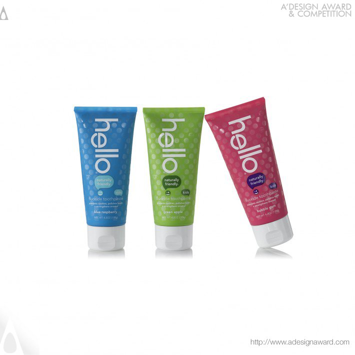Hello Naturally Friendly Toothpastes (Prevent Cavities and Strengthen Enamel Design)