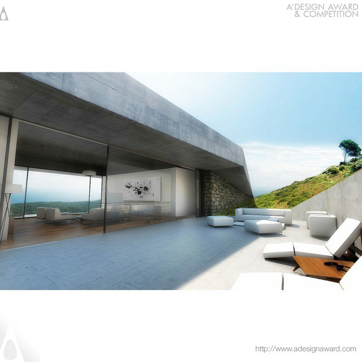 Issa Grotto Hill House (Single Family Holiday House Design)