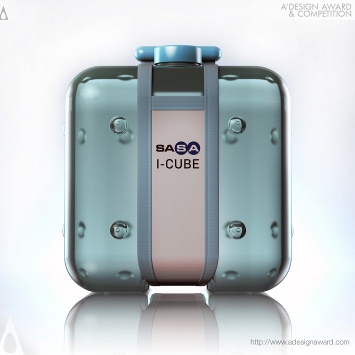 I-Cube (Water Packaging Design)