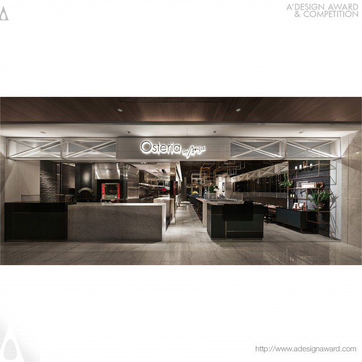 Osteria by Angie Restaurant by Chen Wen Hao