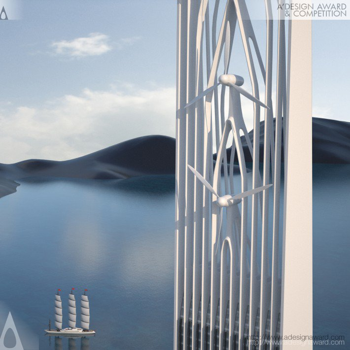 Waterfall Towers (Water Purification Facility Design)