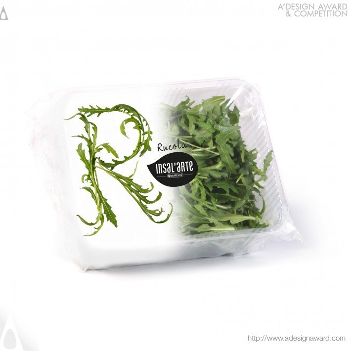 Insal'arte (Food Packaging (fresh Salad) Design)