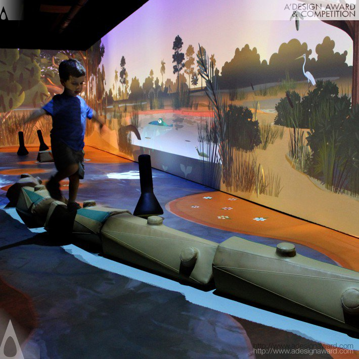 River of Grass Interactive Exhibit by Formula D interactive