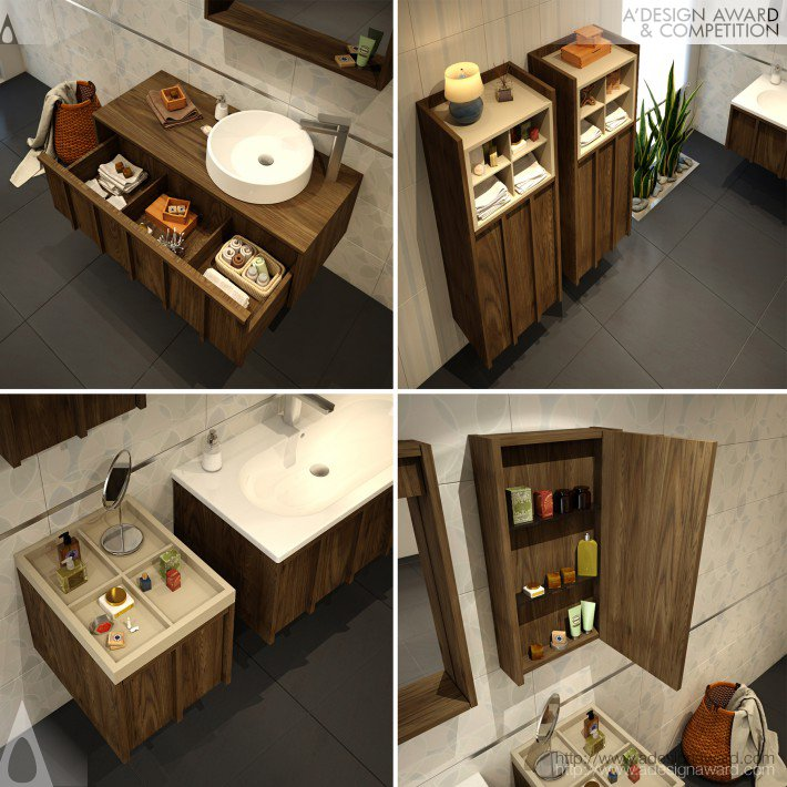 Crate (Bathroom Furniture System Design)