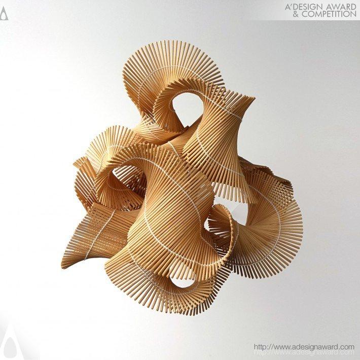 Wood Storm (Desktop Installation Design)