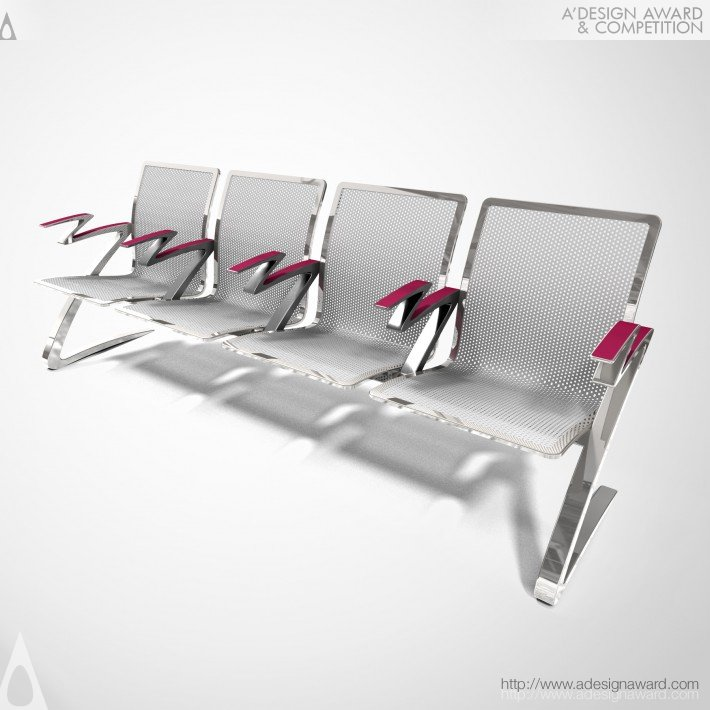 Armrest For High-Density Seating by James Lee