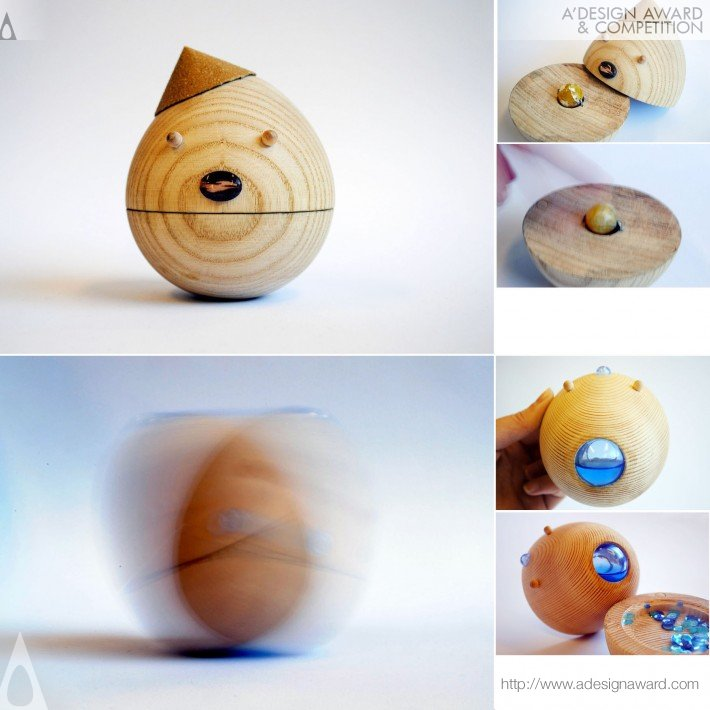 Roly Poly, Movable Wooden Toys by Sha Yang