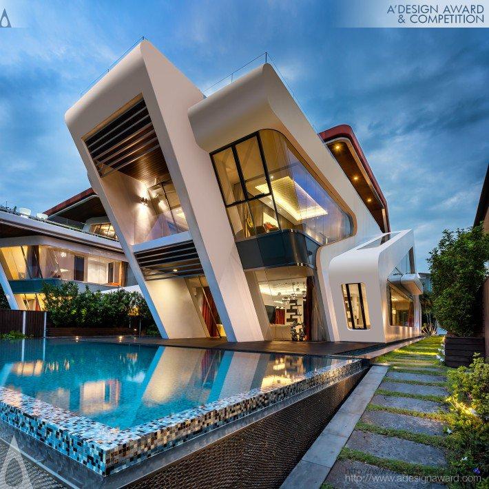 Villa Mistral (Residential Villa Design)