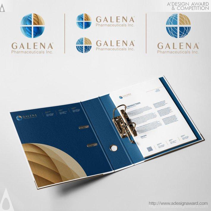 Galena Pharm Inc (Corporate Identity Design)