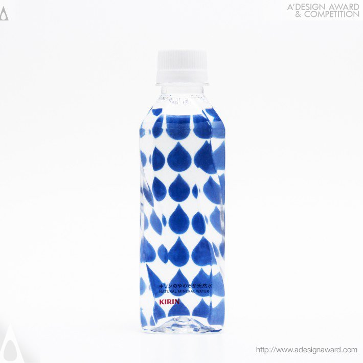 Kirin Natural Mineral Water (Bottled Water Package Design)