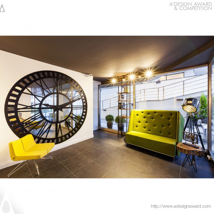 Interior Design Office by Eda Yukseker