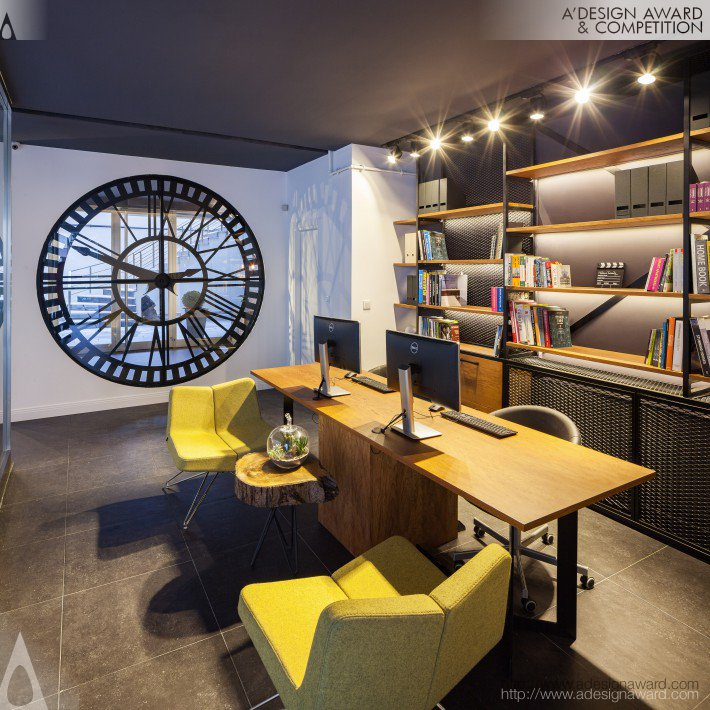 Marvel Interior Design Office by Eda Yukseker