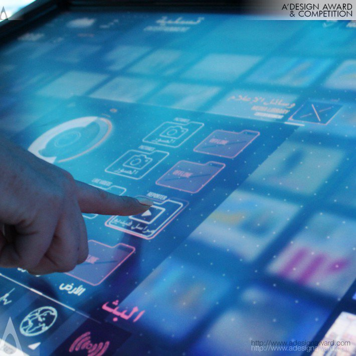 Arab Media Forum 2014 (Art Direction, Interactive Design Design)
