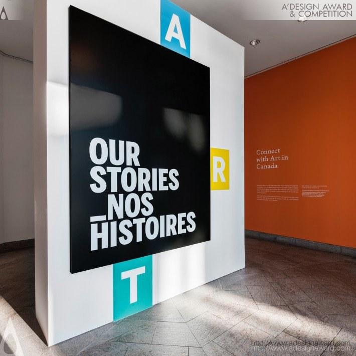 Our Stories. Interactive Learning Centre (Exhibition Design)