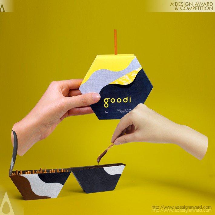 Goodi (Food Packaging Design)