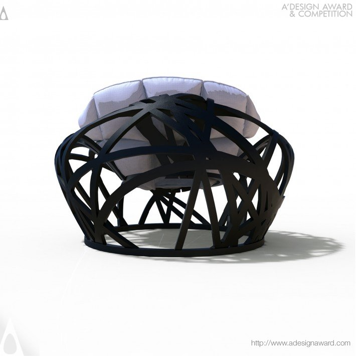 Nest (Outdoor Lounge Chair Design)