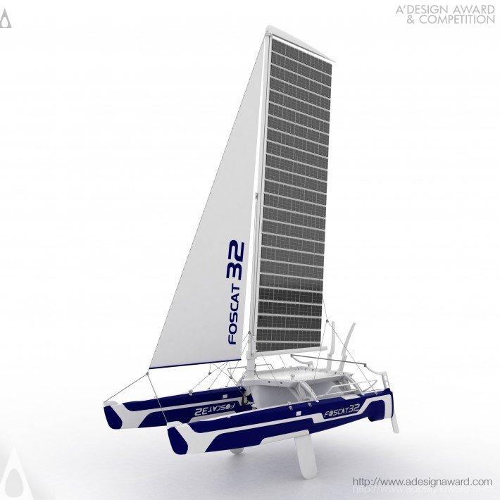 Foscat-32 (Folding Solar Catamaran Design)