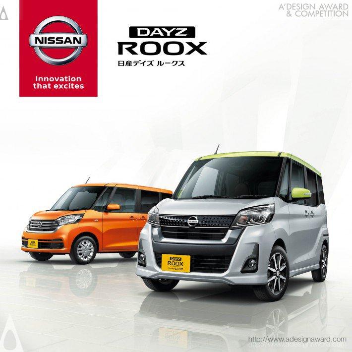 Nissan Dayz Roox (Brochure Design)