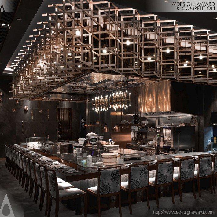 Hana Giku (Japanese Restaurant Design)