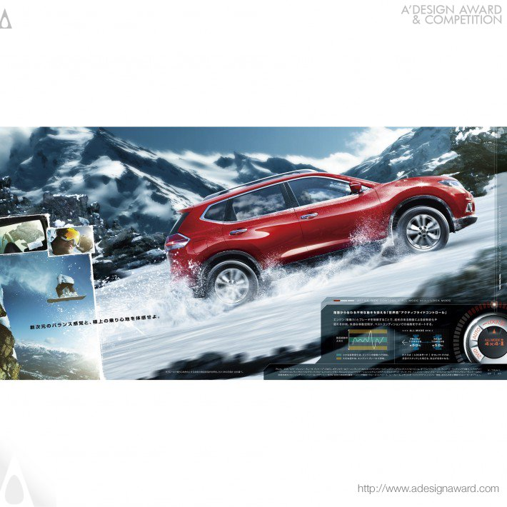 Nissan X-Trail (Brochure Design)