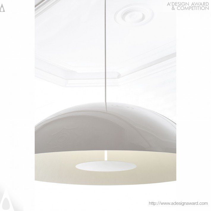 Circle  of Light (Suspension Lamp Design)