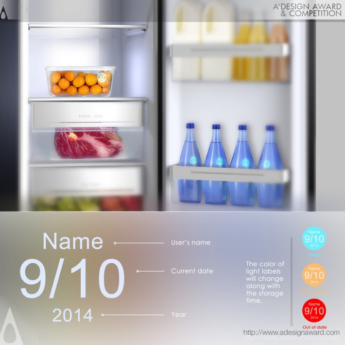 Sliver-Touch (Smart Refrigerator Design)