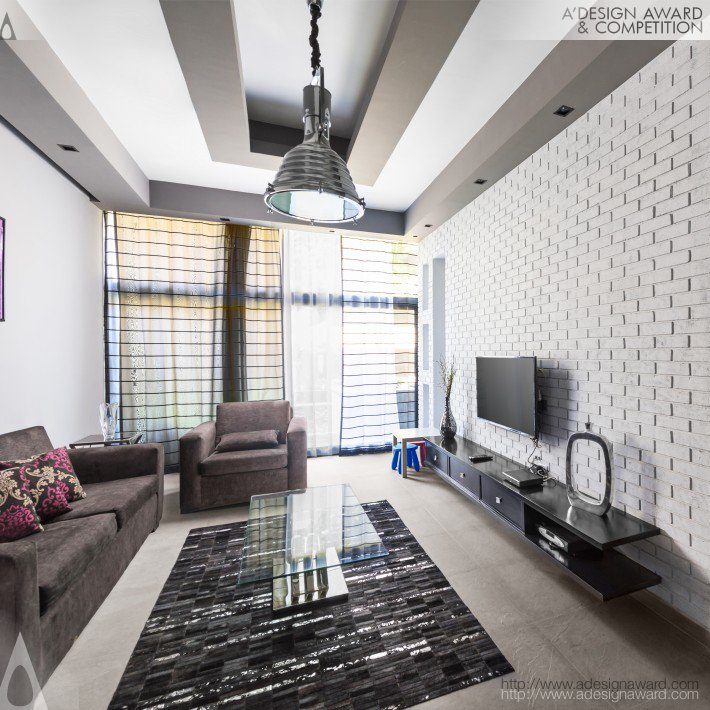 Misty Home Residential Duplex by Eman El Garhy
