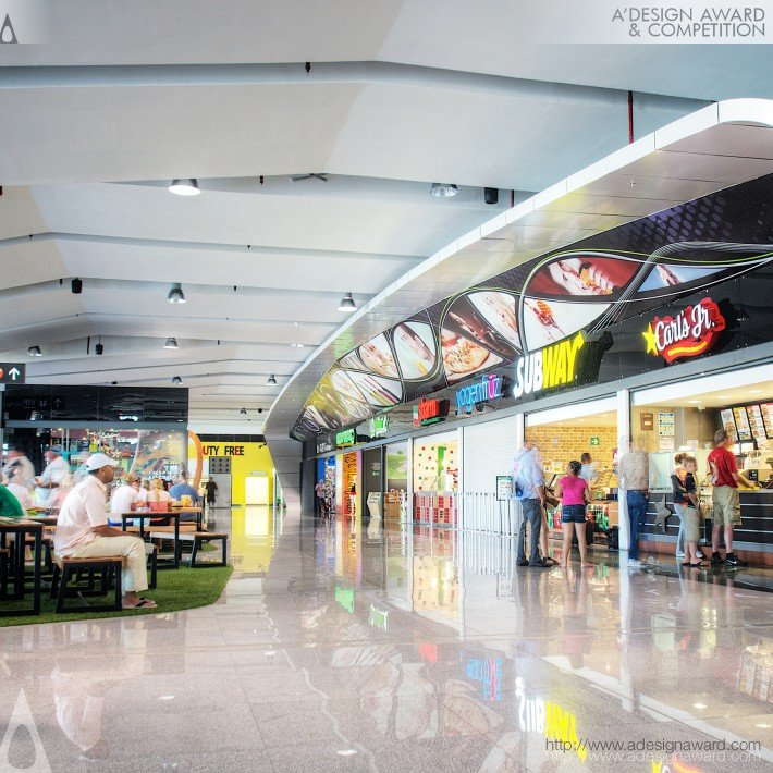 Commercial Area, Sjd Airport (Commercial Area & Vip Waiting Room Design)